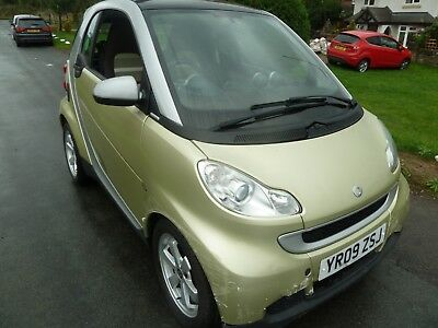 2009 ( 59 ) Smart fortwo 1.0 Passion Limited Three Edition