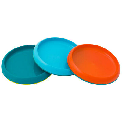 3pc Boon Boys Bowl Plate Non Skid PVC BPA Free Baby Kids 9m+ Table Food Safe