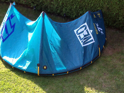 North Kiteboarding Kite EVO 7 qm  blau  Modell 2014 Kite only  4 oder 5 Leiner