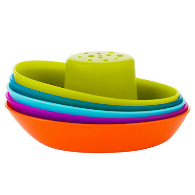 Boon Fleet Stacking Boat Ship Play Toy for Baby Toddlers Kids Bath Time