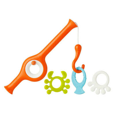 Boon Cast Fishing Animal Pole Game Play Toy for Baby Children Toddler Bath Time