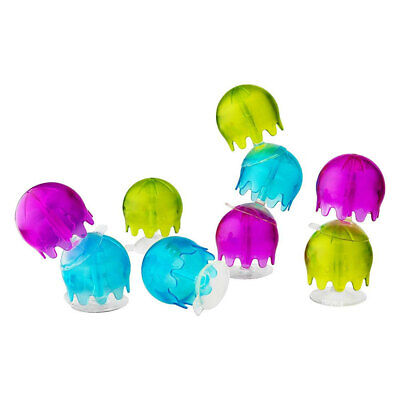 Boon 9pc Jellies Suction Cup Bath Toys for Baby/Kids/Toddlers Bathroom/Tub