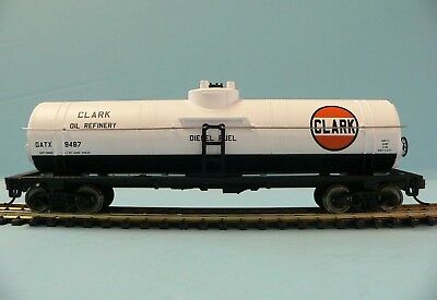 HO Scale Model Railroad Trains Layout Walthers Clark Tanker Car Rolling Stock