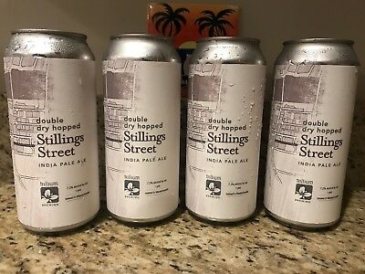 Trillium Brewing DDH Stillings Street IPA New Release 4 Cans