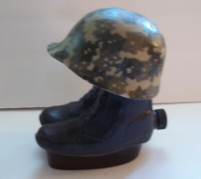 Jim Beam Decanter - Boots and Helmet - 1975