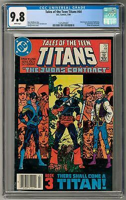 Tales of the Teen Titans #44 CGC 9.8 (W) 1st Nightwing Appearance
