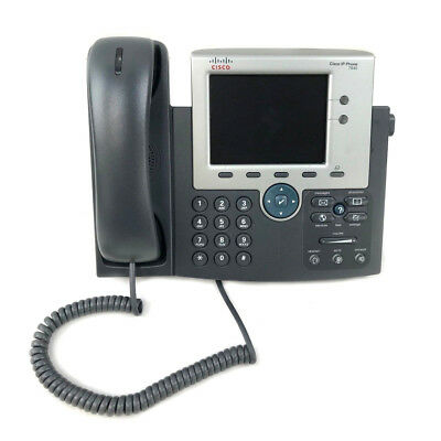 Cisco 7945G CP-7945G Unified IP VoIP Gigabit Phone TFT Color Display