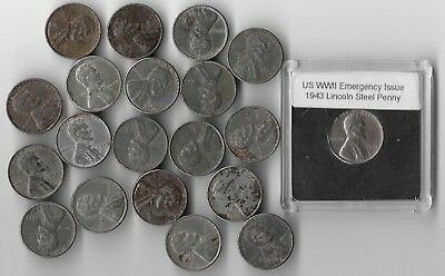 20 Rare Very Old WWII US Coin Collection USA WW2 Vintage War Penny Cent Big Lot