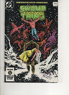 Swamp Thing 31 Very Fine+ 1984 Dc Copper Age Comic