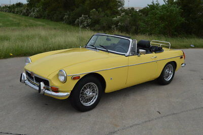 MGB -- 1974 MG MGB, Yellow with 59,843 Miles available now!