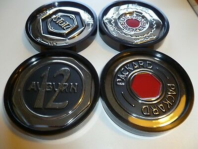 Gallery Originals Replica Center Grease Caps Set of 4 Coasters Henry Ford Museum