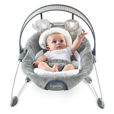 Ingenuity Automatic Bouncer Baby Infant Dream Comfort Rocking Chair Seat Toys
