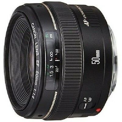 USED Canon EF 50mm f/1.4 USM Lens Excellent FREE SHIPPING