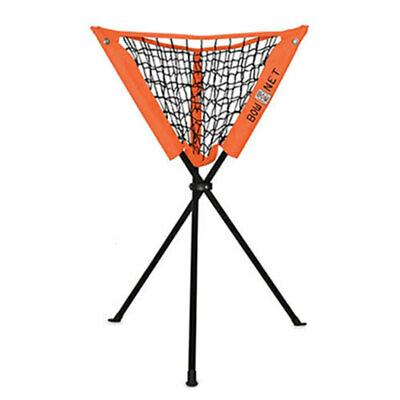 Bownet Foldable Caddy Holder Netting For Cricket Baseball Softball Tennis Ball