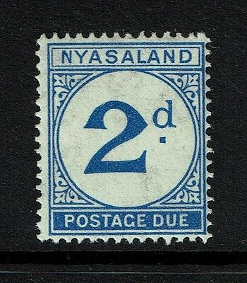 Nyasaland SG# D2 - Mint Never Hinged - Lot 080617