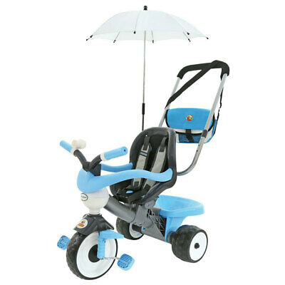 Coloma Deluxe Tricycle Trike Shade Parent Handle Toddler Kids Outdoor Ride-On