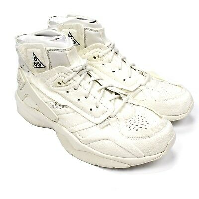 8c9082701c7b2a NWT Nike ACG Comme Des Garcons CDG Air Mowabb Sail White Sneakers 9 10  AUTHENTIC