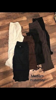maternity clothes lot size medium Pants