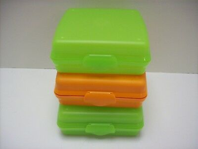 Set of 3 Tupperware Sandwich Keeper Containers