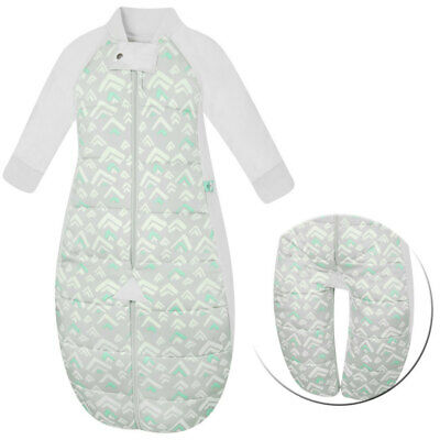 ErgoPouch 2.5TOG Baby Sleep Suit Swaddle Bag Organic Cotton Grey Mountain 2-4yrs