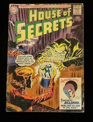HOUSE OF SECRETS #61 DC 1963 SILVER AGE KEY COMIC BOOK 1st APPEARANCE ECLIPSO