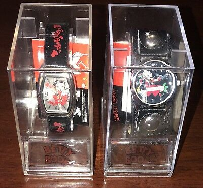 (2) Betty Boop Watches 2010 By Urban Station Original & New