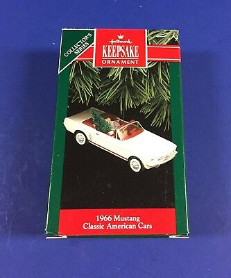 Hallmark Ornament - Classic American Cars - 1966 Mustang - 2Nd In Series - 1992