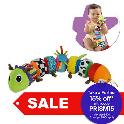 Lamaze Plush Mix and Match Caterpillar Crinkle Jingle Squeaky Interactive Toy