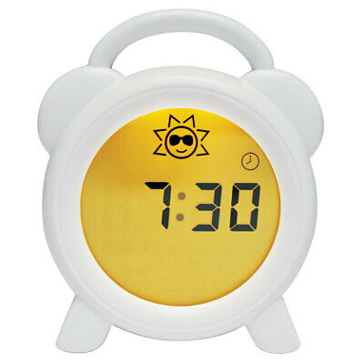 Roger Armstrong Sleep Trainer Toddler Clock w/ Night Light/Alarm for Kids