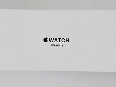 Apple Series 3 Watch Silver Aluminum 42MM EMPTY BOX