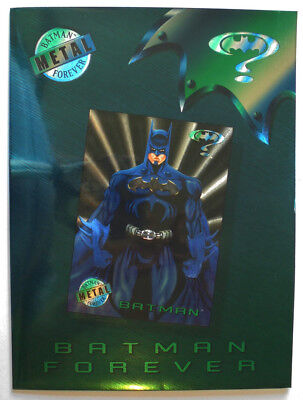 1995 Fleer Ultra BATMAN FOREVER  Promotional folder
