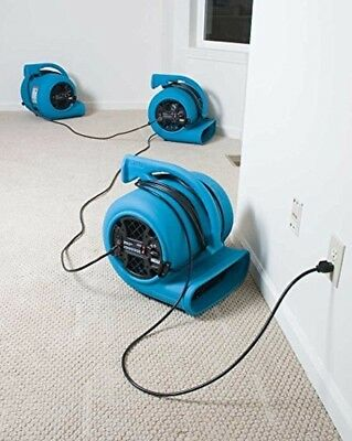 Carpet Dryer Air Mover TurboDryer 3-Speed Floor Carpet Cleaning Blower