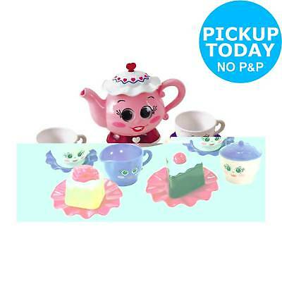 Chad Valley 11 Piece Tea Party Set Pink 2+ Years