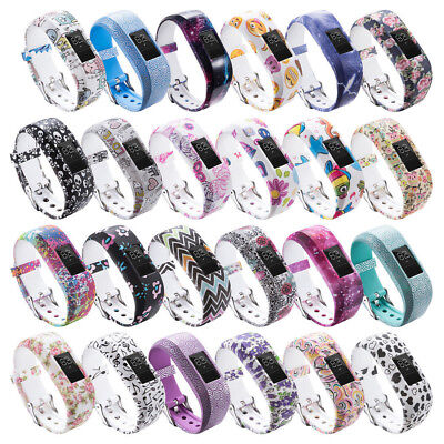 1 Replacemet Silicone Watch Band Strap for Garmin VivoFit Jr/ Jr 2 Kids' Fitness