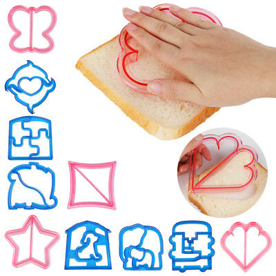 Kids Lunch Sandwich Toast Cookies Mold Cake Bread Biscuit Food Cutter Cute Mould