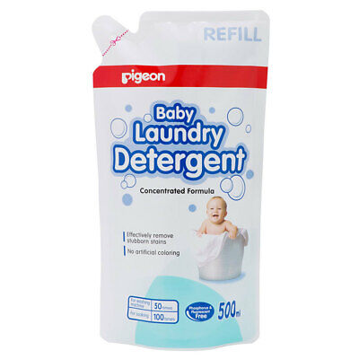 Pigeon 500ml Laundry Detergent Liquid Refill for Sensitive Skin Baby Clothes