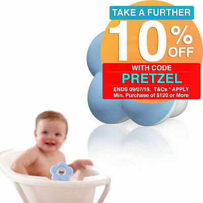 Blue Philips Avent SCH550 Temperature Safety Thermometer Baby Water Bath Nursery