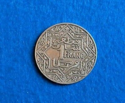 Pa Morocco Franc Y-36.1 - (French-Protectorate) Extremely Nice Coin - See PICS