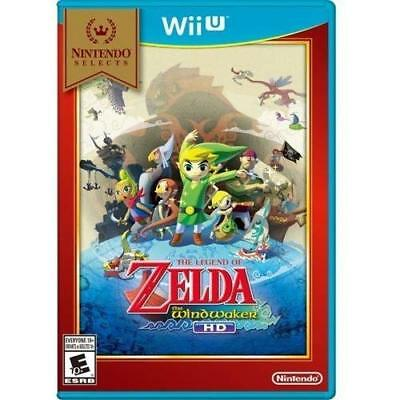 Nintendo Selects: The Legend Of Zelda: The Wind Waker HD For Wii U Brand New