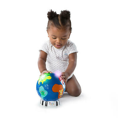 Baby Einstein Music Discovery Globe Map Light Musical Tunes Toy Kids Infant 6m+