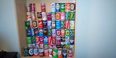 Vintage Soda Can Collection MN BASED VARIETY FAMOUS BRANDS PULL TAB STEEL