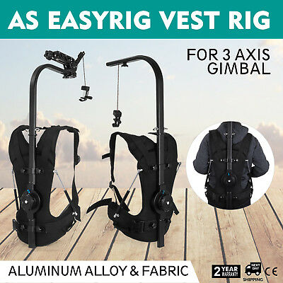 As Easyrig Handsfree Weight Support Vest Gimbal DSLR Camera Stabilizer