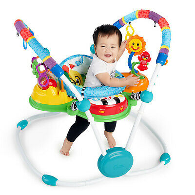 Baby Einstein Toddler Be Neighborhood Symphony Activity Jumper Music Sound Toys