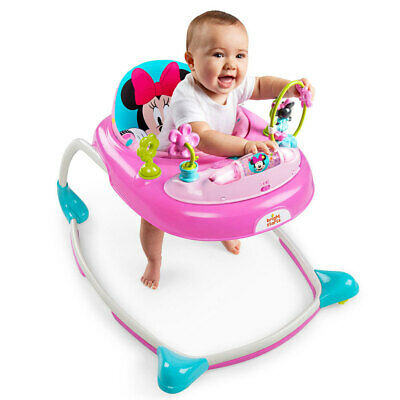 Bright Starts Disney Minnie Mouse Play Sound Light Toy for Baby Toddler Walker