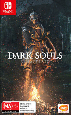 Dark Souls Remastered Switch Game NEW