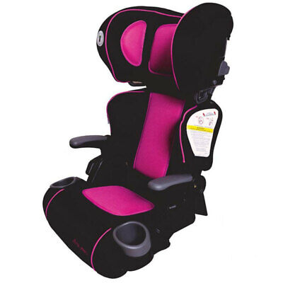 Pink Black First Years Foldable Car Seat Booster Toddler Children Kids 4yr+