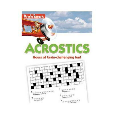 Puzzle Baron's Acrostics by Stephen P. Ryder (author)