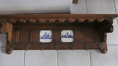 kitchen shelf Grande archelle Hollande 1950 Delft porte manteau décoration