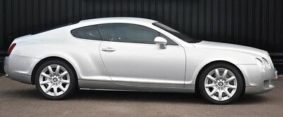 Bentley Continental GT 6.0 W12 * Silver, Cream hide with blue