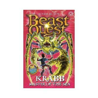 Krabb, Master of the Sea by Adam Blade (author)